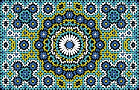 islamic pattern: Traditional Arabic Ornament