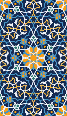 islamic art: Traditional Morocco Pattern Illustration
