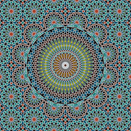 Traditional Morocco Pattern  イラスト・ベクター素材