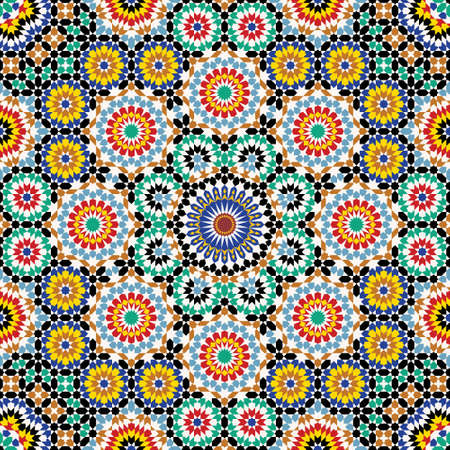 Traditional Morocco Pattern Stock Vector - 15565404