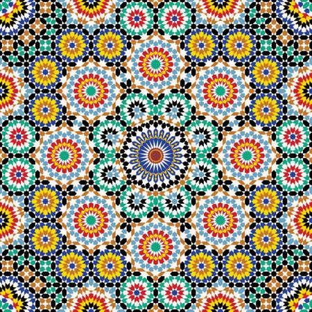 Traditional Morocco Pattern Illustration