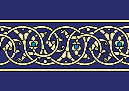 ceramiki: Tradycyjny arabski Border