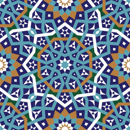 Traditional Morocco Pattern Stock Vector - 15565374