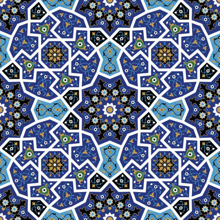 Traditional Morocco Pattern Vectores