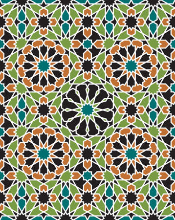 Traditional Morocco Pattern Stock Vector - 15565412