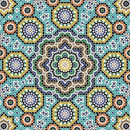 Traditional Morocco Pattern Stock Illustratie