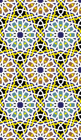 Traditional Morocco Pattern Stock Vector - 15565381