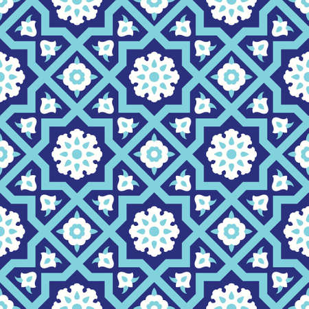 Ardakan Seamless Pattern Three Stock Illustratie