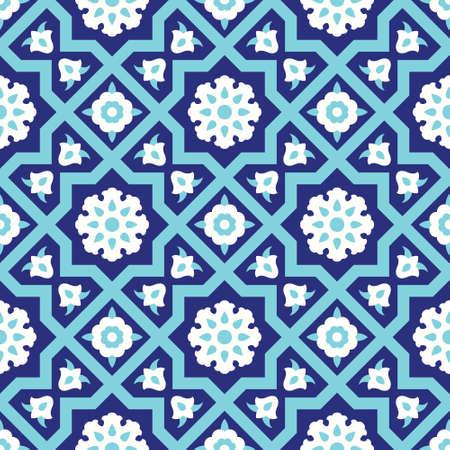 Ardakan Seamless Pattern Three Illustration