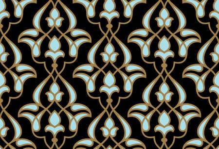 Ardakan Seamless Pattern Stock Illustratie
