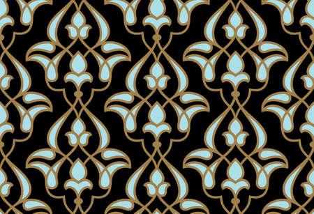 Ardakan Seamless Pattern Illustration