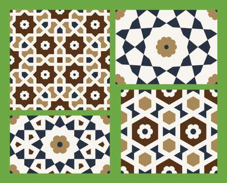 patron islamico: Dise�o �rabe tradicional