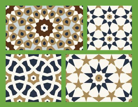 islamic pattern: Traditional Arabic Design Illustration