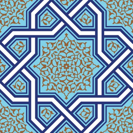 Traditional Arabic Design Illustration