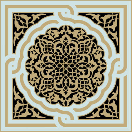 Traditional Arabic Design Stock Illustratie