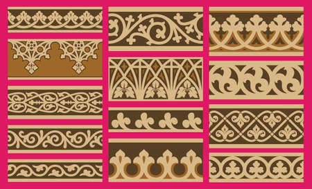 gothic design: Gothic Design Illustration