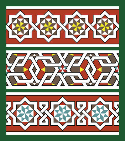 Morocco Borders Stock Vector - 16952887