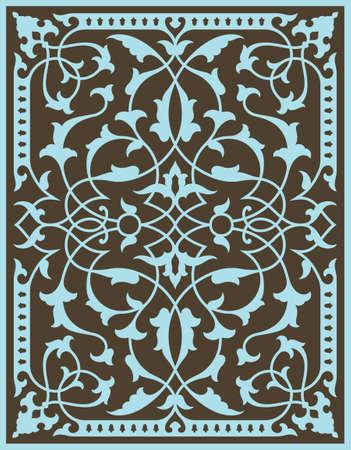 majestic: Classic Ornament Illustration