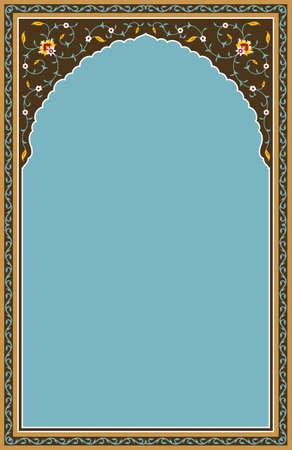 arabic frame: Traditional Arabic Design Illustration