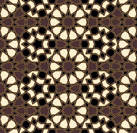 arabic architecture: Traditional Arabic Design Illustration