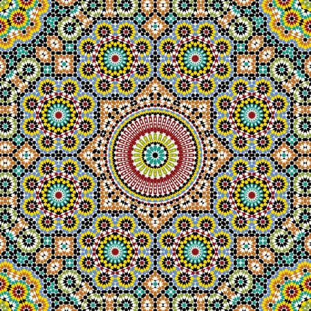伝統的なアラビア デザイン  イラスト・ベクター素材