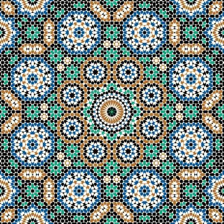 Traditional Moorish Pattern Stock Vector - 20272456