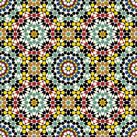moorish: Traditional Moorish Pattern Illustration