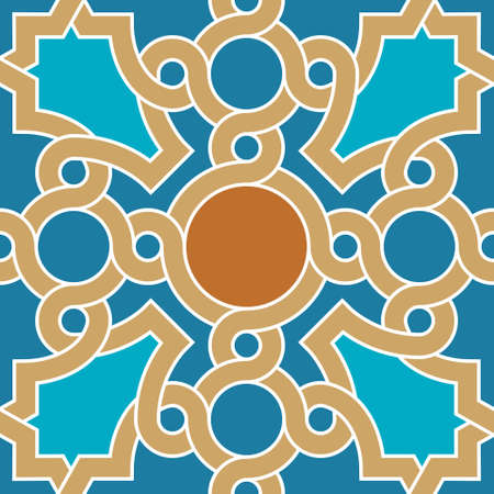 glaze: Traditional Arabic Design Illustration