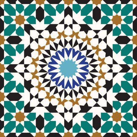 Traditional Arabic Design Иллюстрация