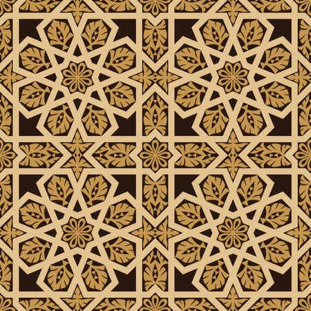 Keramik: Traditionelle arabische Design Muster