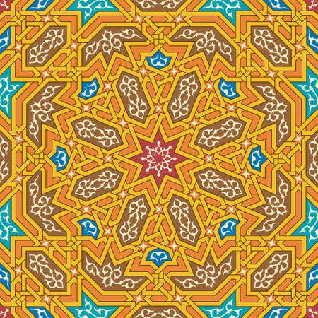 islamic pattern: Traditional Arabic Design Pattern