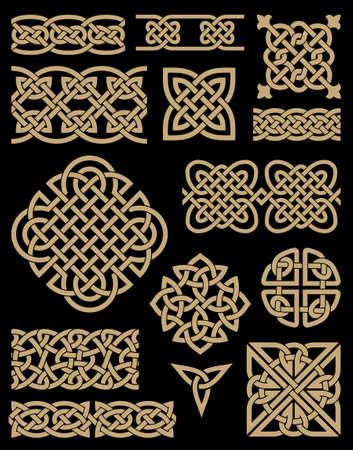 design art: Celtic Design Elements Set