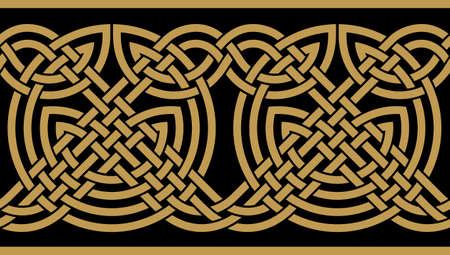 Traditional Saxon Design Vector