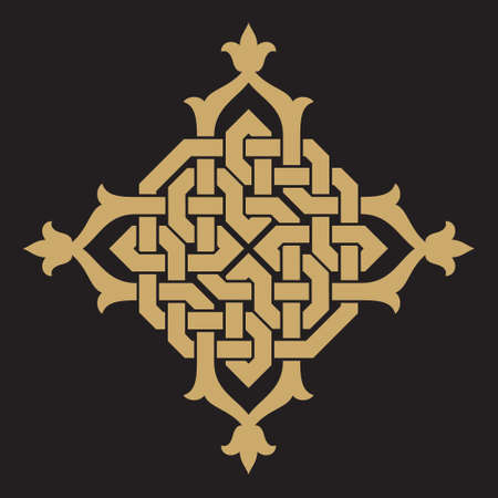 ornaments vector: Traditional Arabic Design Illustration