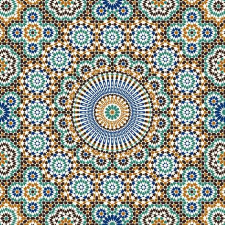 arabesco: Diseño tradicional de Marruecos Vectores