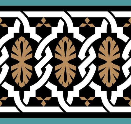 arabesque pattern: Traditional Morocco Design