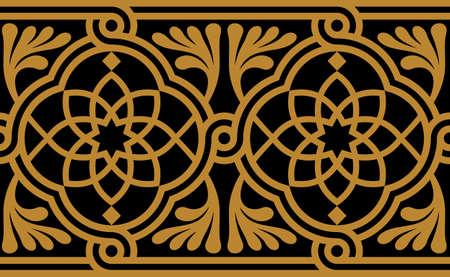 伝統的なアラビアのデザイン  イラスト・ベクター素材