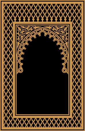 Traditionelles arabisches Design Standard-Bild - 49483742