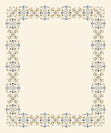 vintage floral frame: vintage floral frame
