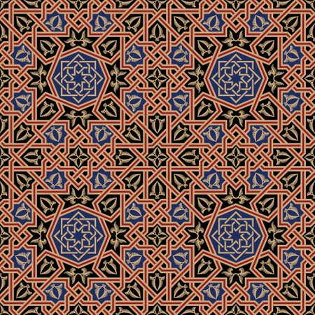 mosaic: Traditional Morocco Seamless Pattern
