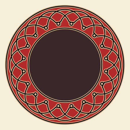 figuration: Gothic Medieval Frame Illustration