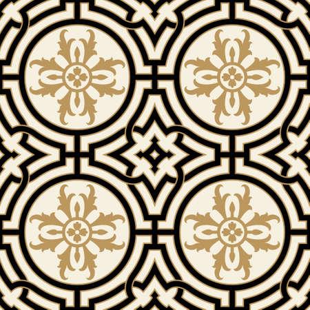 figuration: Victorian Seamless Pattern