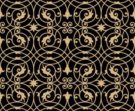 Traditionelle Eisen-Arbeits-nahtlose Muster Ten