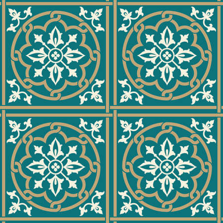 figuration: Traditional Victorian Seamless Pattern2