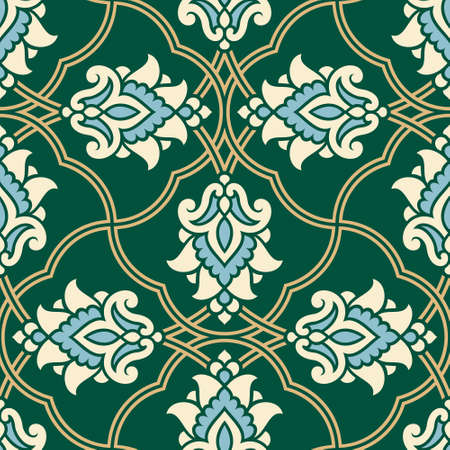 seamless: Arabic Floral seamless Pattern