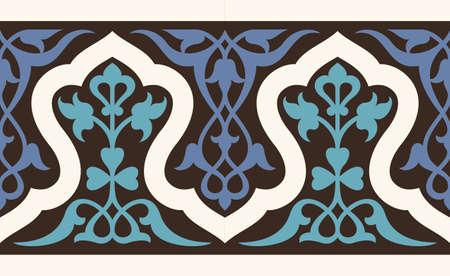 moulding: Traditional Uzbekistan Seamless Border One