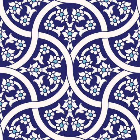 uzbekistan: Traditional Uzbekistan Seamless Pattern