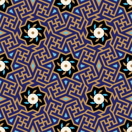 seamless: Uzbekistan Seamless Pattern Two