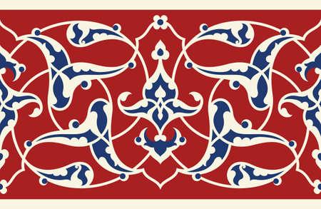 ottoman: Ottoman Floral Seamless Frame