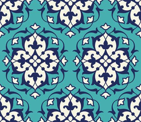 arabesque pattern: Iran Seamless Pattern